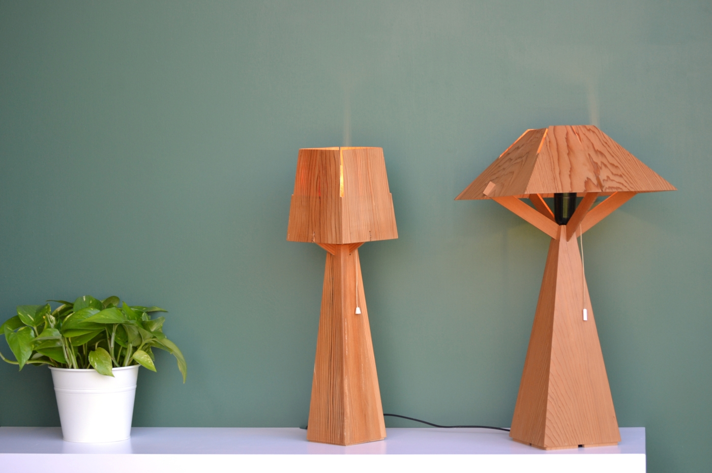 Cedro 20 and Cedro 10 Lamps