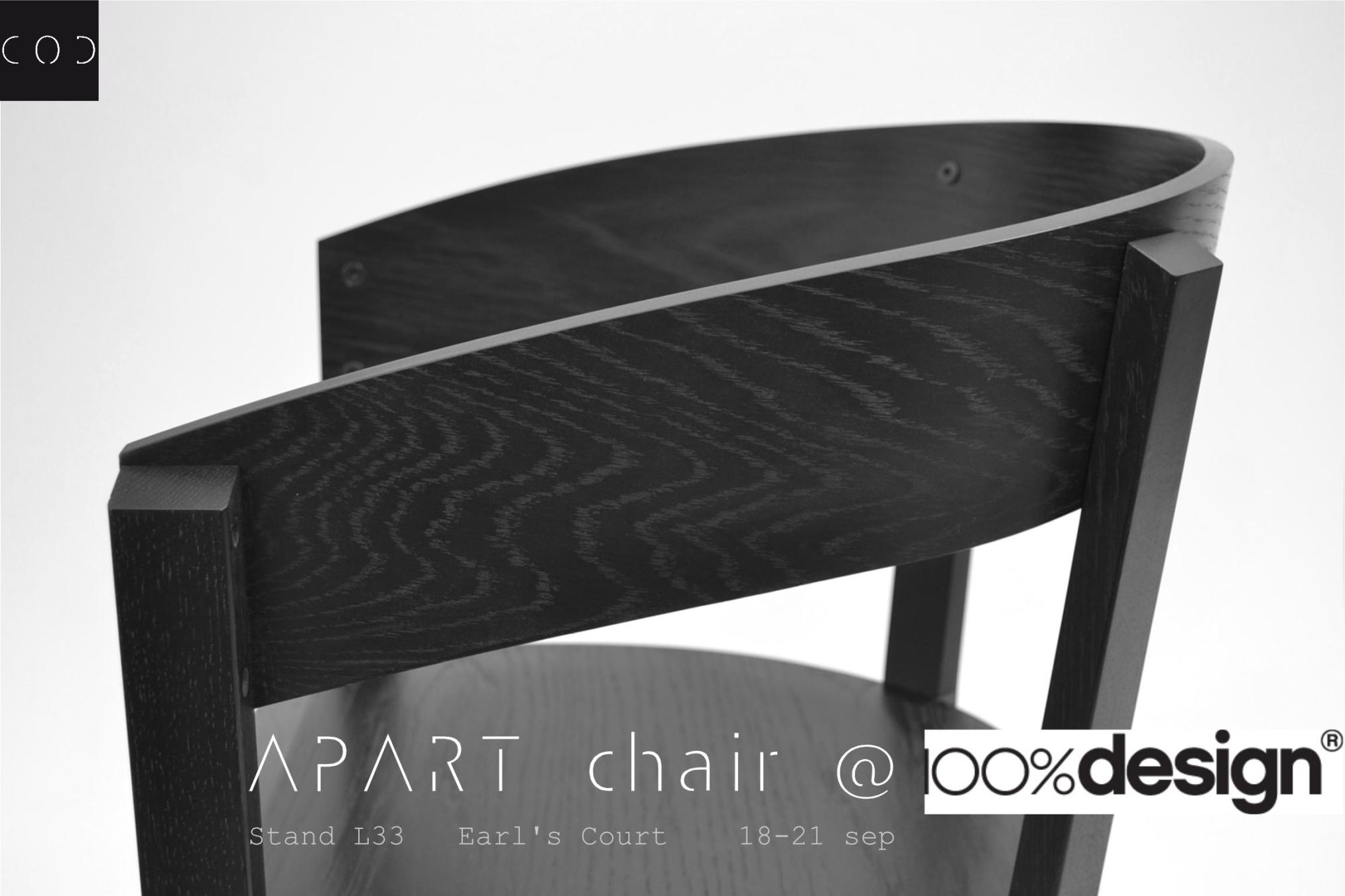 apart chair carlos ortega design